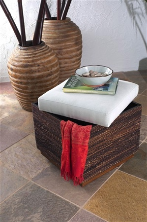 Table Talk  Using An Ottoman As A Coffee Table Can Add Just The Right  Amount Of Flair To The Room. Youu0027ll Want To Use Ottomans With Firm Padding,  ...