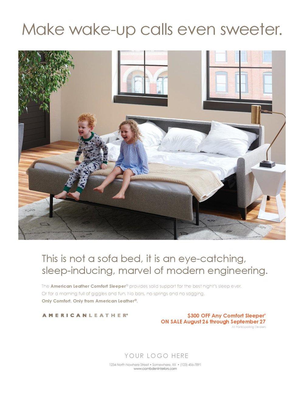 there are two things youu0027ll never find in an american leather comfort sleeper sofa bars and springs