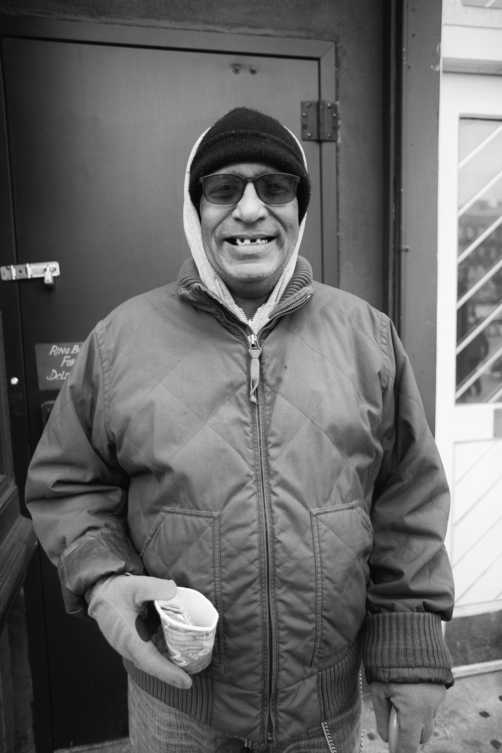 GREAT CONVERSATION WITH THIS GENTLEMAN ON HOUSTON STREET