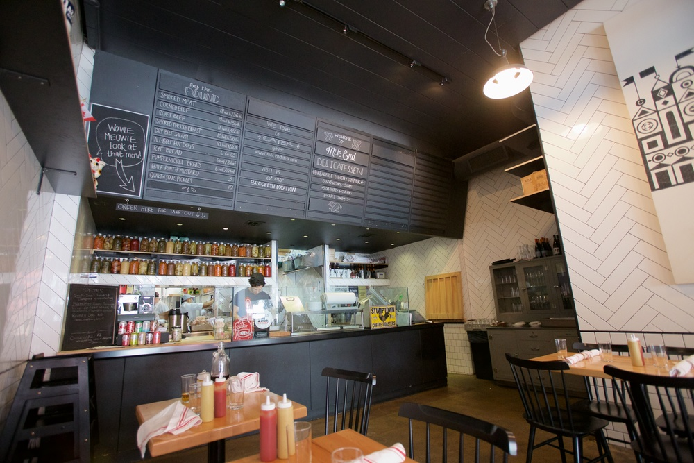 TYPICAL OF AN ARTISAN DELI, MILE END DELICATESSEN HAS A LIMITED MENU