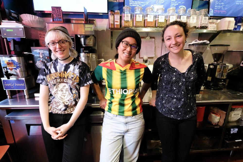 Abbie, Renae and Naomi