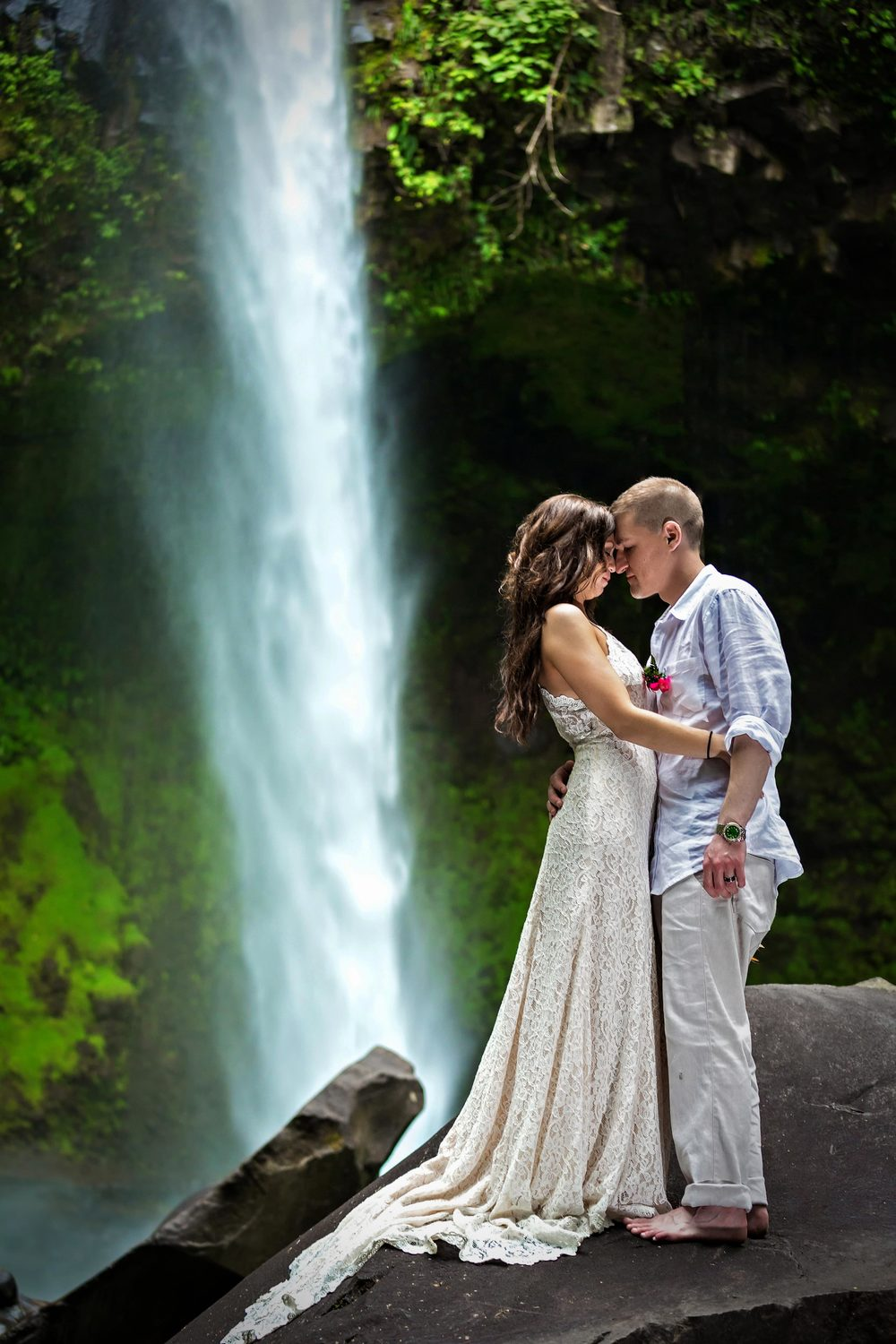 TTD at La Fortuna Waterfall