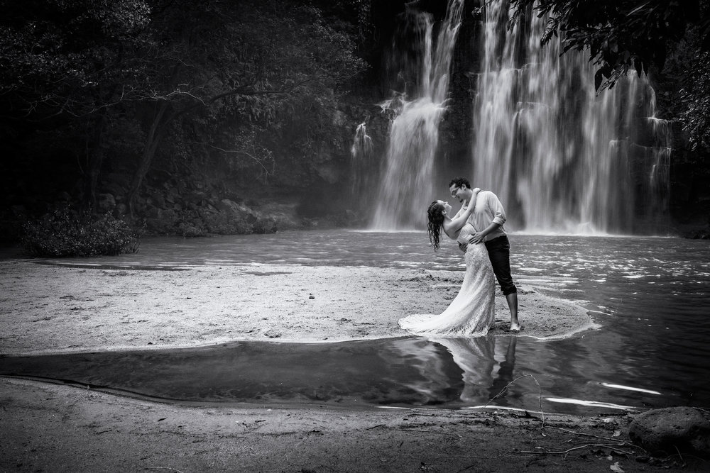 TTD Llanos de Cortéz Waterfall