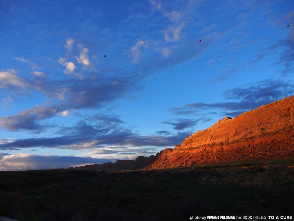 Navajo Sunset, 2015