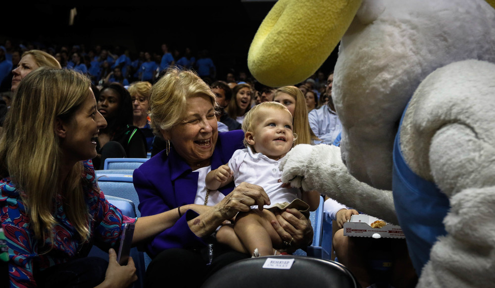UNC Basketball Exhibition Game