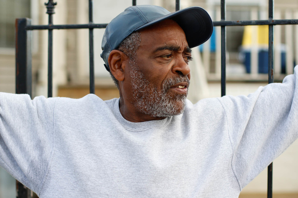 "After Katrina, Harry Sims had to start anew with rebuilding his house and even his yard. Because of the possible contamination and chemicals from the junkyard a few blocks away, Harry scraped the mud out of his yard and replaced the dirt. The metal yard was used to cut up ships and Harry feared that the water would affect the generations ""comin' up."""