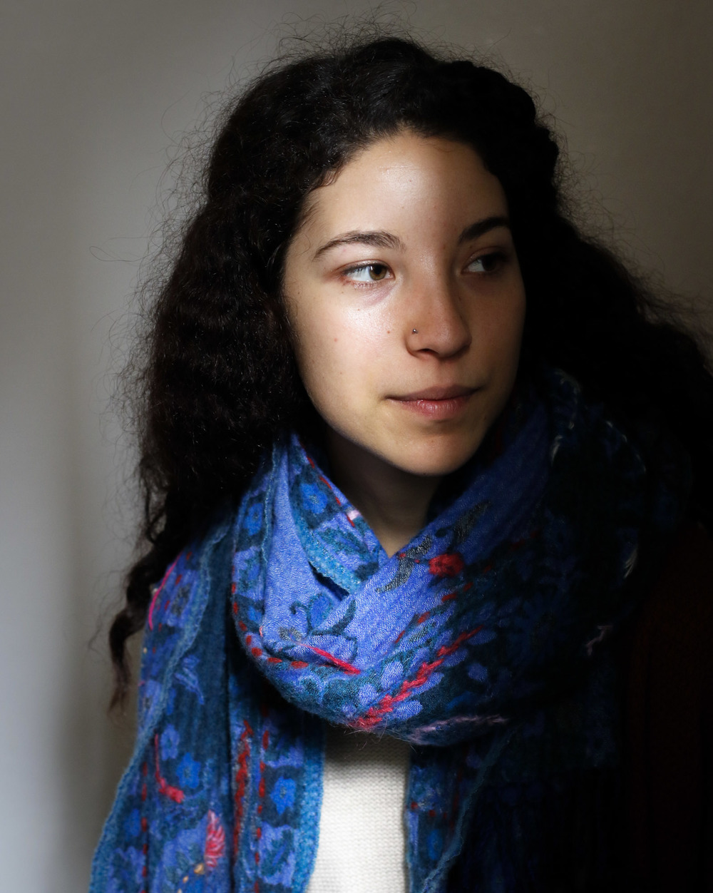 Amelia in Rabat, 2016