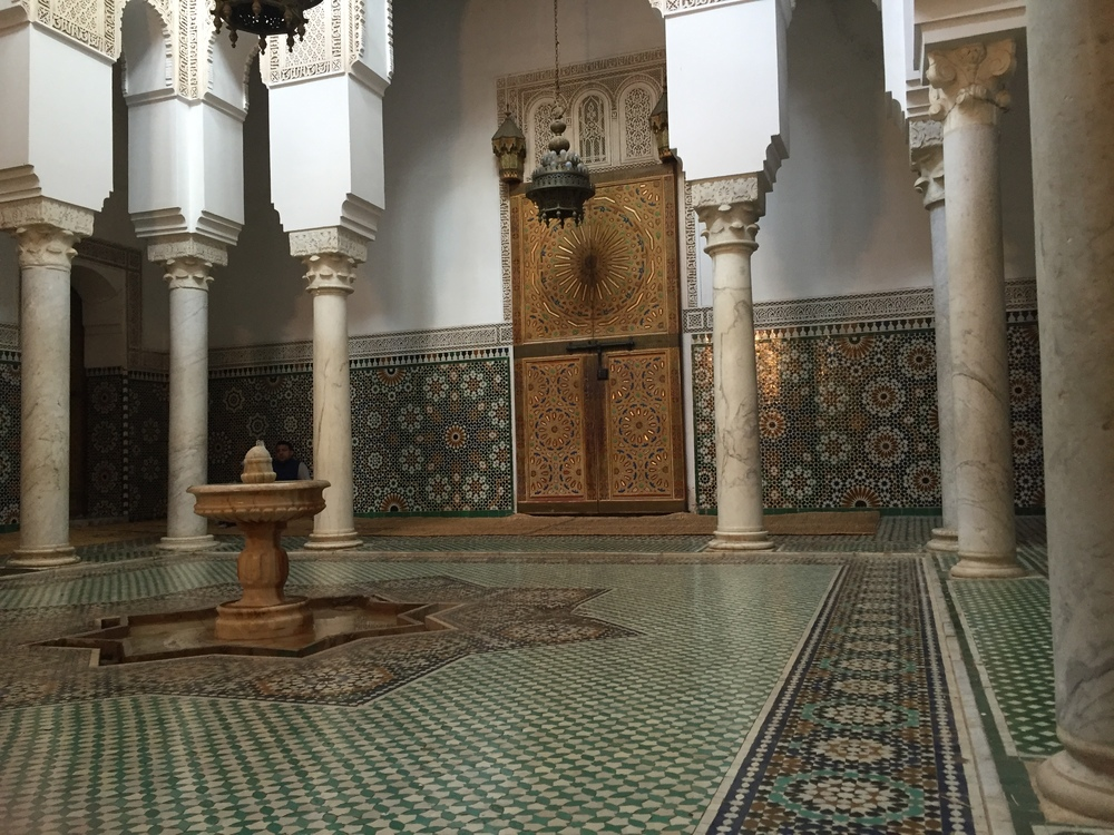 Moulay Ismail Mosque, Meknes, 2016