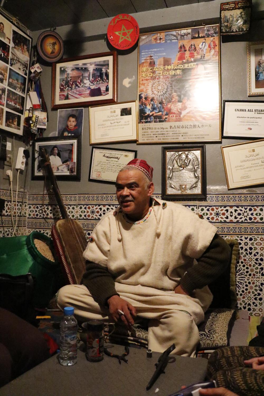 Gnawa master Abdelkader Amlil, 2016