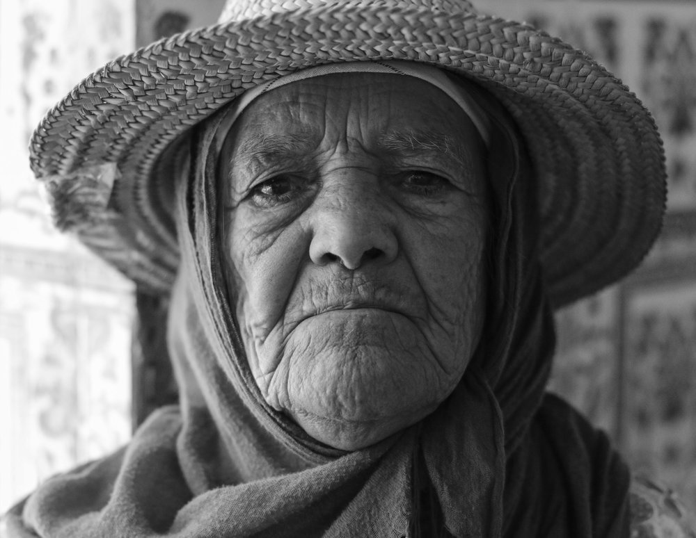 "The Bouya Omar mausoleum, located about two hours outside of Marrakech, Morocco, serves the rural community as a holy place to exorcise   djinn   (demons) from the mentally ill and addicted. Last summer, the shrine-turned-clinic was formally investigated by the Moroccan government and it was discovered that the workers had been chaining up, beating, and starving those who were ""admitted."" Mahjouba is one of many who stay at Bouya Omar, treating it as a shelter. There is a huge problem in rural Morocco of access to education on the topic, proper facilities, and treatment for the mentally ill and addicted."