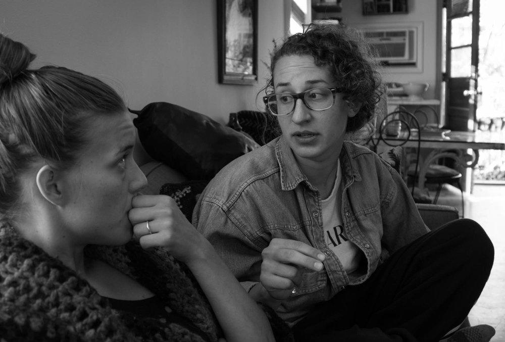 Emily and Jannika, Chapel Hill NC