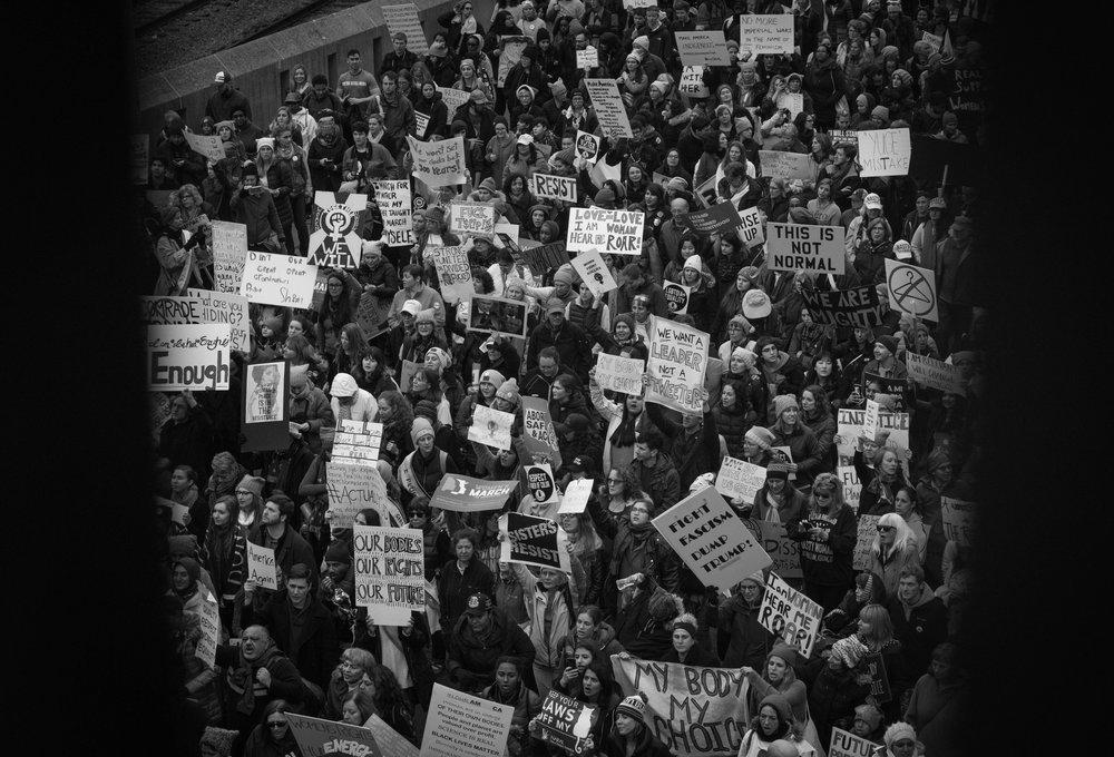 Women's March, January 2017