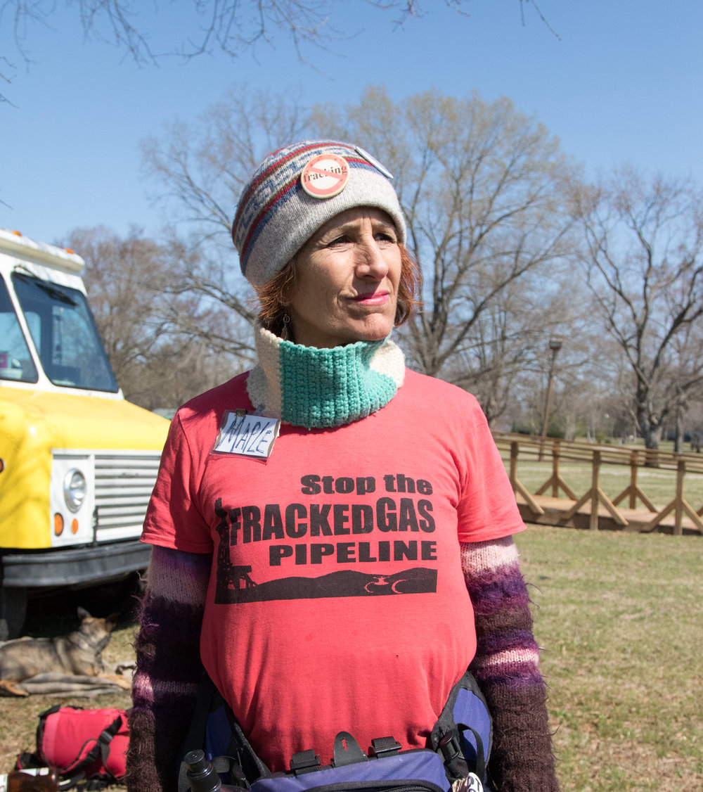 Maple at the Atlantic Coast Pipeline Protest, 2017