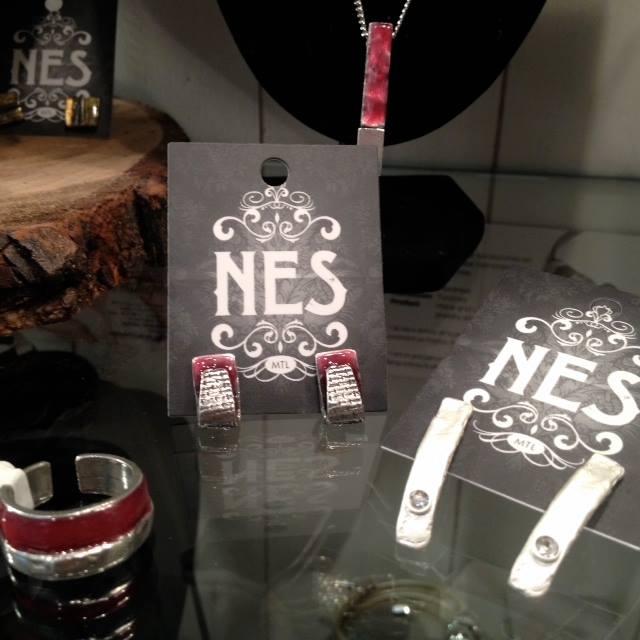 N.E.S. bijoux faits à la main par Sybelle et Nikaline