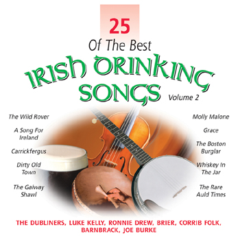 Various Artists - 25 of the Best Irish Drinking Songs Vol. 2.jpg