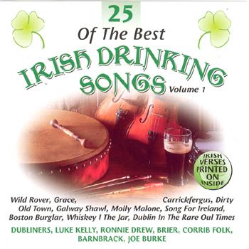 Various Artists - 25 of the Best Irish Drinking Songs Vol. 1.jpg