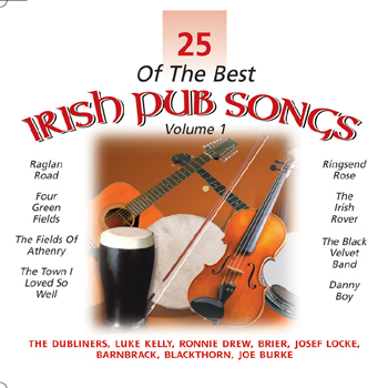 Various Artists - 25 of the Best Irish Pub Songs Vol. 1.jpg