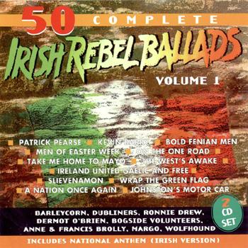 Various Artists - 50 Best Irish Rebel Ballads Vol. 1.jpg