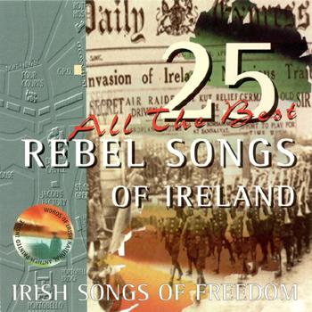 Dermot O'Brien - 25 Rebel Songs Of Ireland.jpg