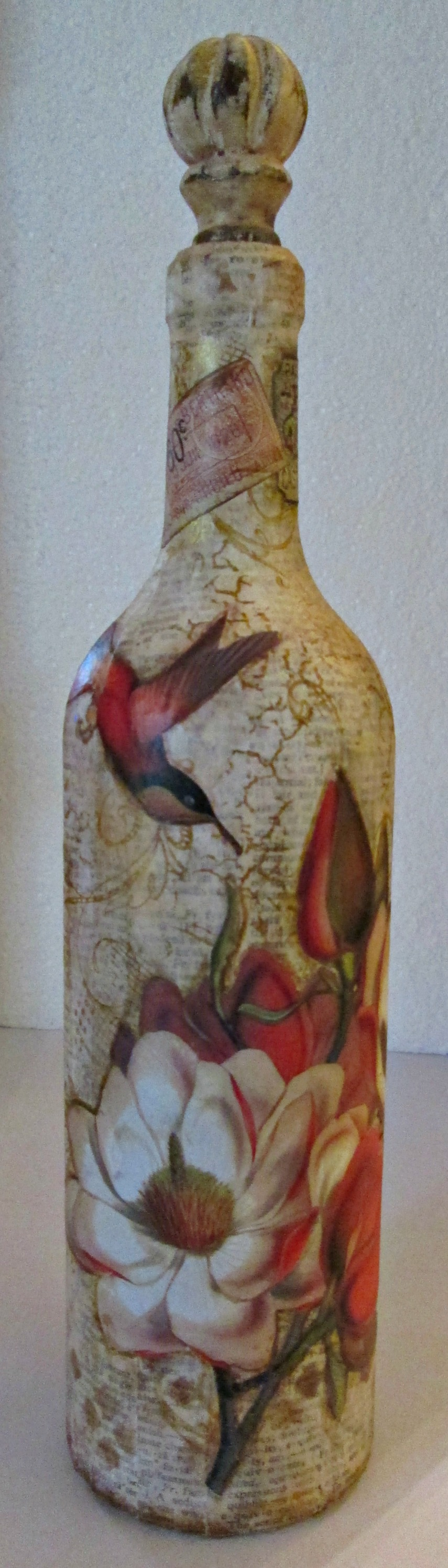 Altered Wine Bottle