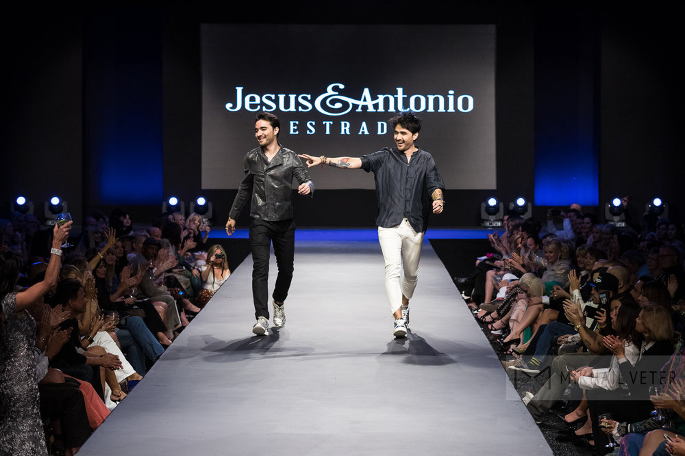Jesus and Antonio Estrada | Fashion Week El Paseo Fall 2017