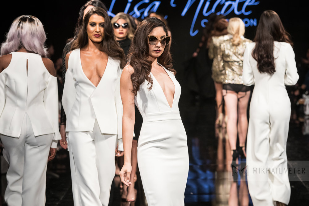 Lisa Nicole Collection | Art Hearts Fashion LAFW March 2017