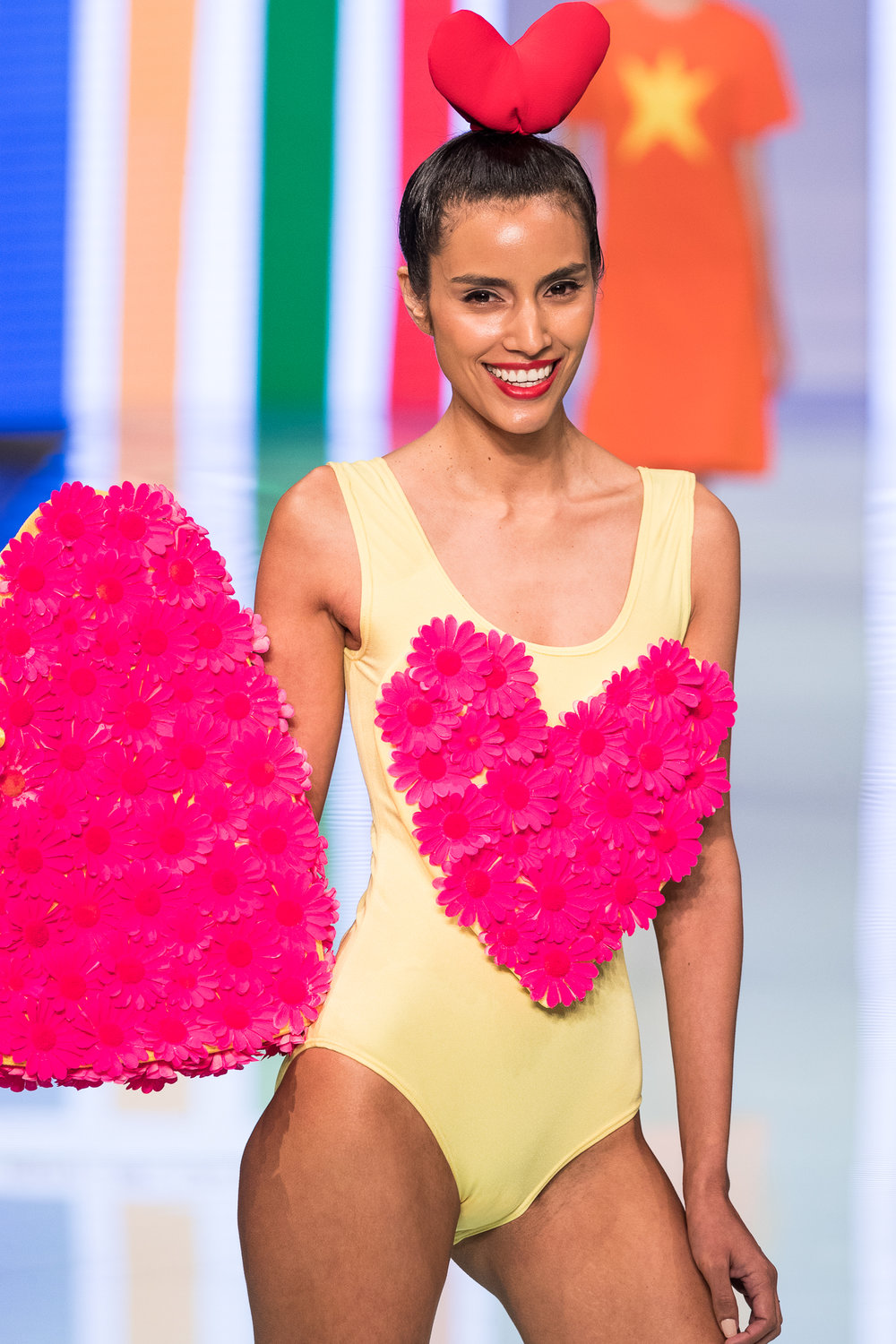 agatha ruiz de la prada heated things up at miami fashion week mikhail veter. Black Bedroom Furniture Sets. Home Design Ideas