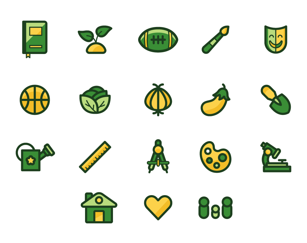 Knowledge Quest Icon Set