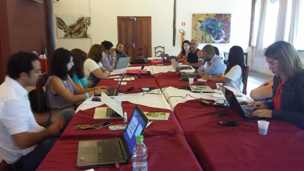 GCFF workshop in Brazil -March, 2016.