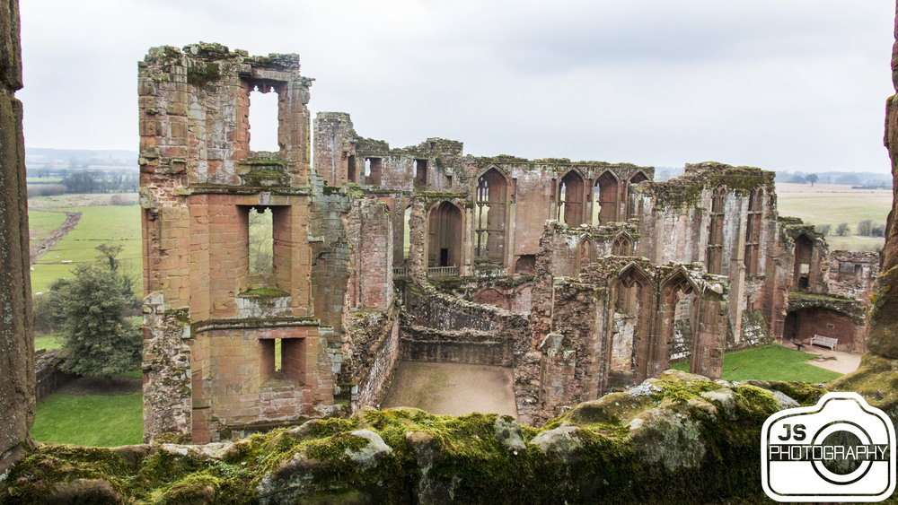 Some of the castle ruins.