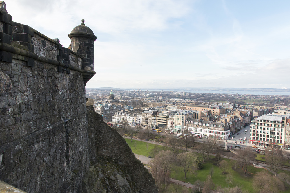 Some of the views from the castle