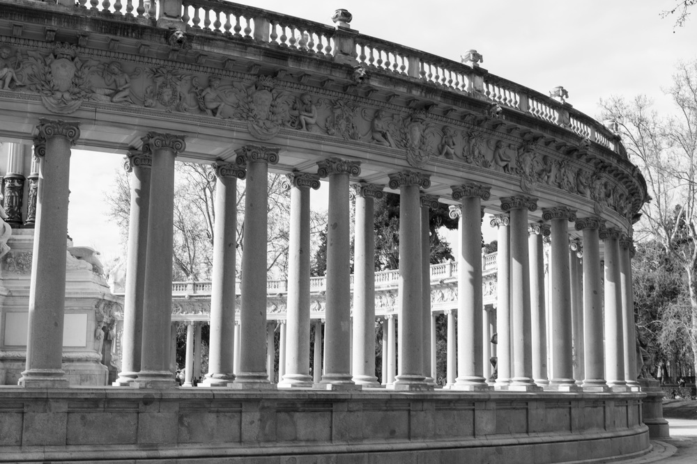 Buen Retiro Park. This was also another really beautiful park.