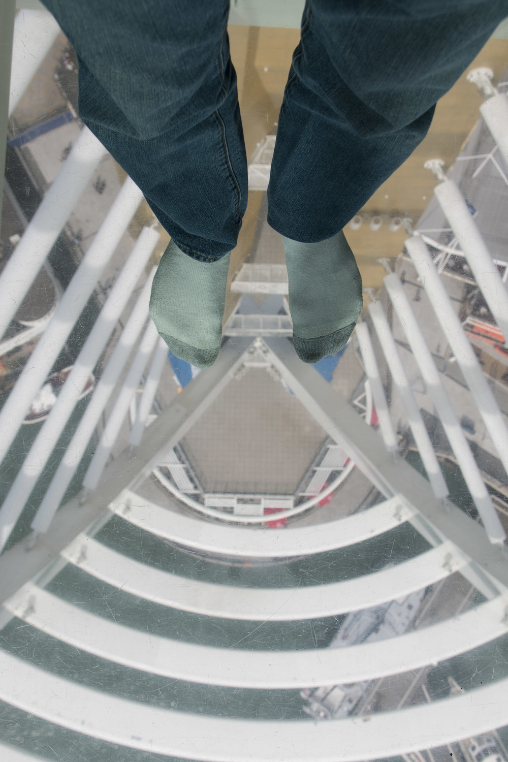Inches of glass between me and a 300ft drop