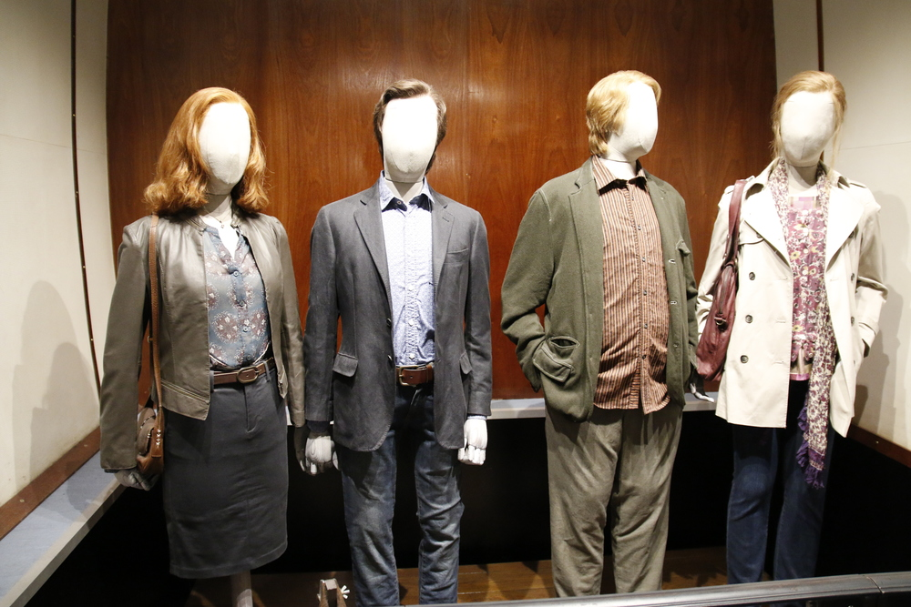 I believe these were the last outfits that the actors wore in their final scene.
