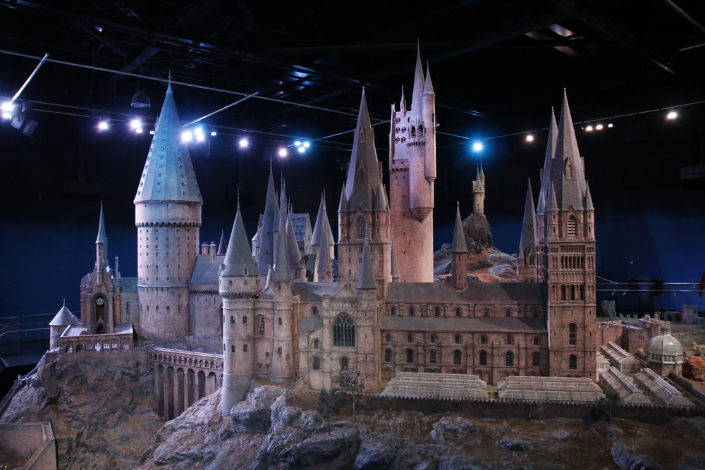 In my opinion, this is the crown and jewel of the entire place. It's a small scale, yet very large Hogwarts castle.