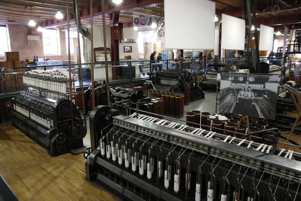 These were working cotton machines.