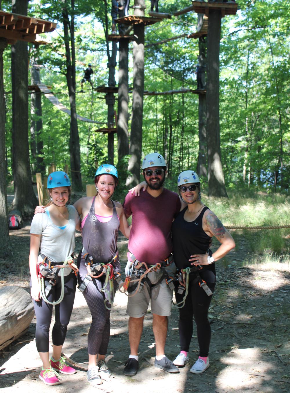 Treetop Trekking: Brampton Park