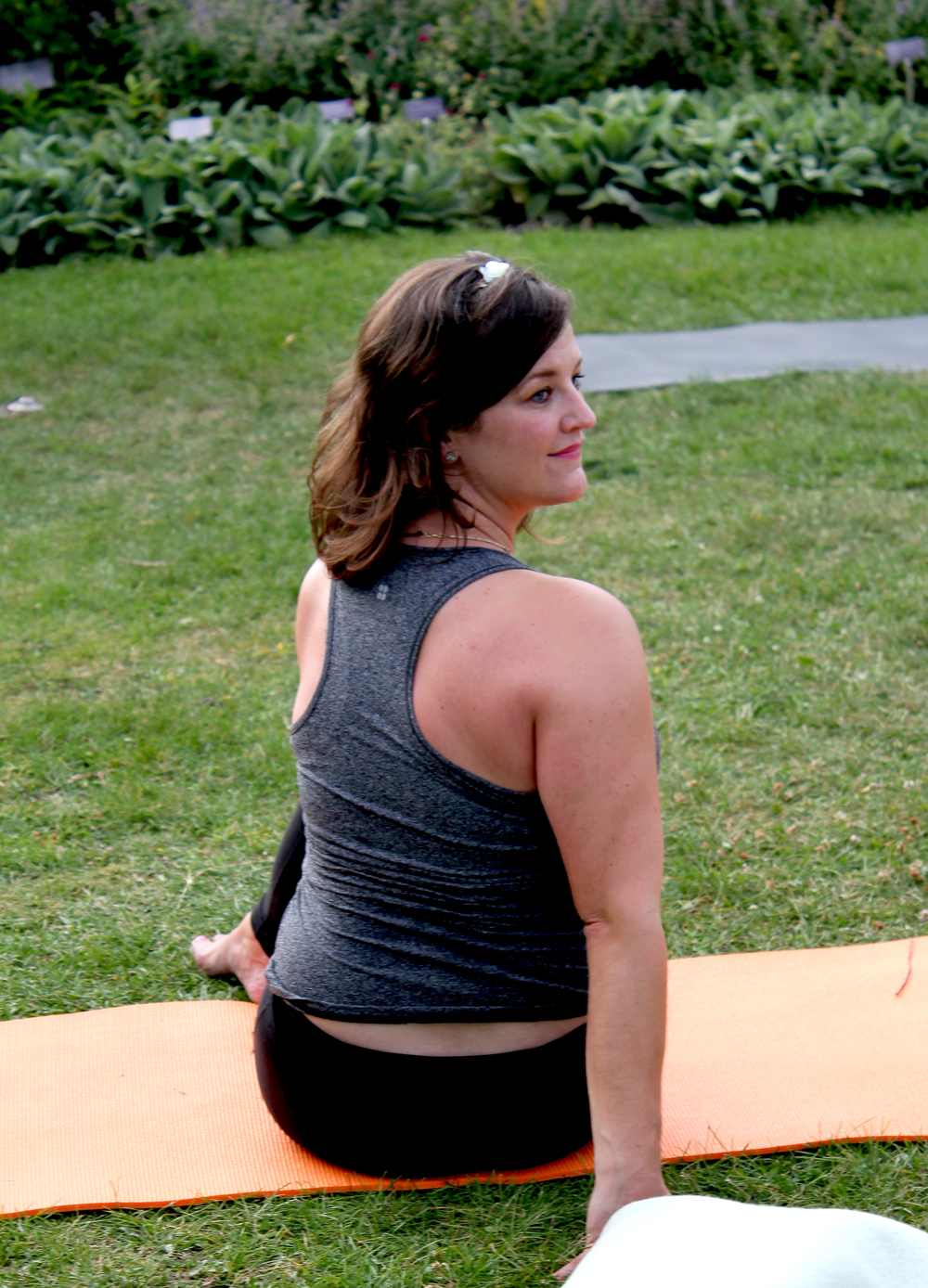 Yoga Summer at Toronto Botanical Gardens with Janet Crocken