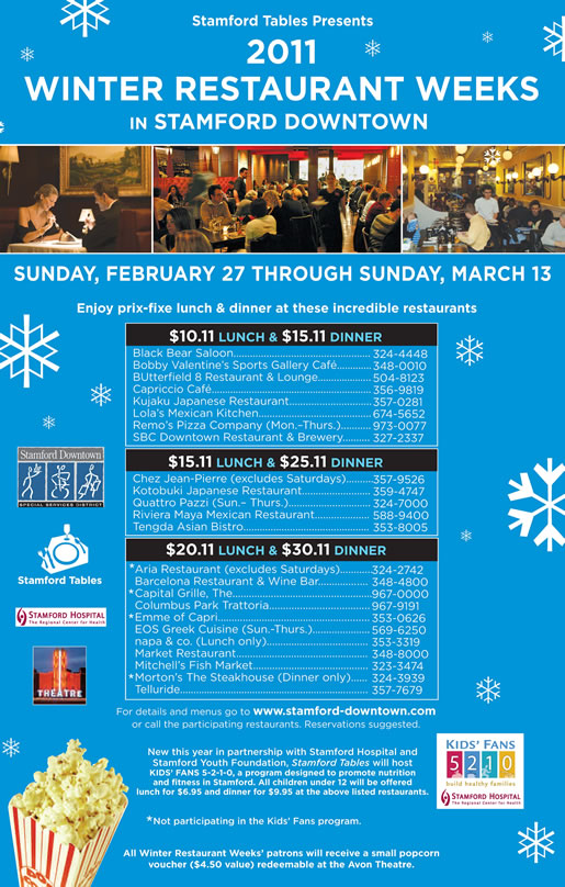 Stamford Restaurant Week Starts February 27th Ct Bites