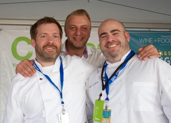 Joel Viehland, Fritz Knipschildt, Matt Storch