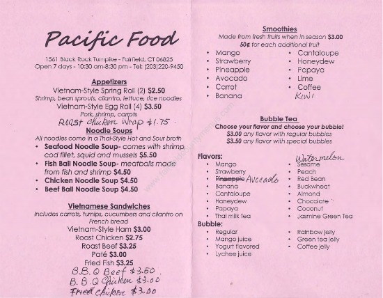 Asian Treats At Pacific Food In Fairfield — Ct Bites