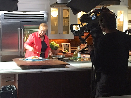 CTbites Joins Lidia Bastianich Shooting Her TV Series Lidia\'s ...