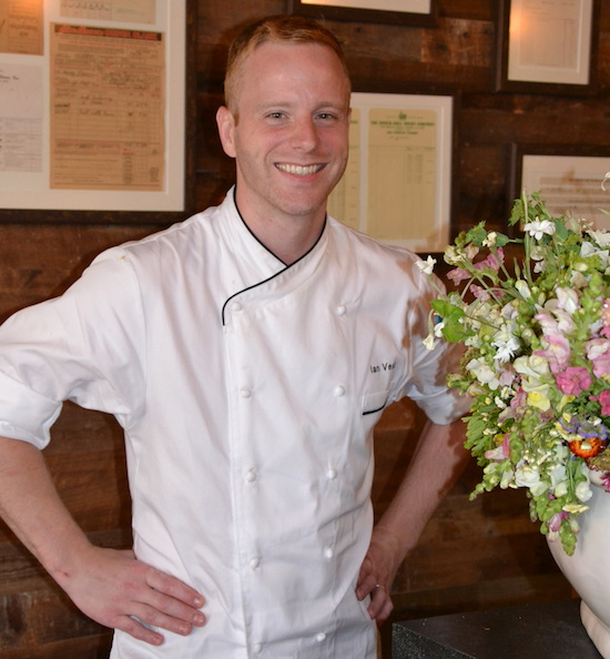 chef ian vest of greenwichs back 40 kitchen began his career as a busboy at thirteen years old since his teens he has worked in top kitchens including - Back 40 Kitchen