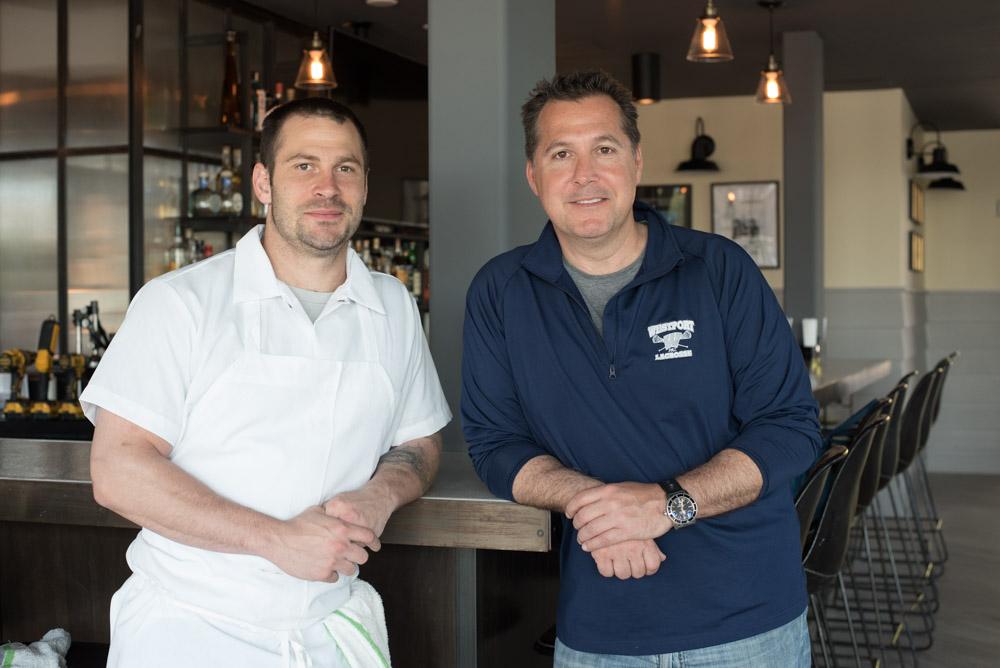 Chef Justin Kaplan & Sal Augeri