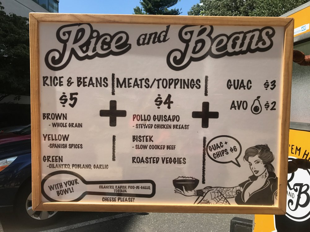 Rice Beans Food Truck Dont Miss This Outstanding Mobile Menu