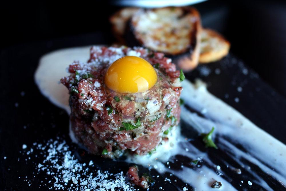 Prime Steak Tartare - Truffle parmesean - Quail Egg 2.jpg
