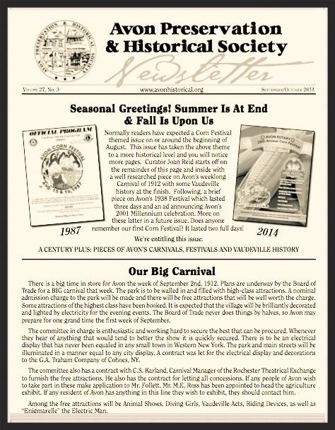 AP&HS Newsletter
