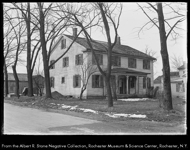 Wilbur House, 1924.   Photograph.  Source: Albert Stone Collection, RM&SC Rochester ,NY