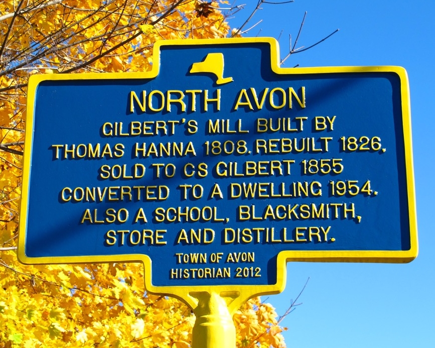 Link for  North Avon  history.