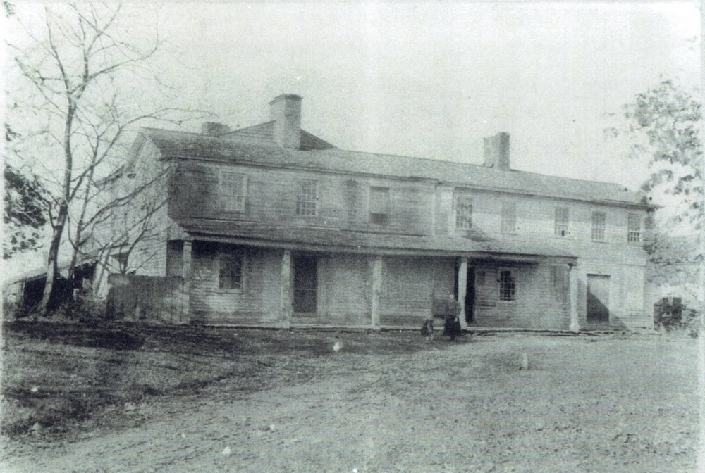 Chadwick Tavern ,  South Avon.  Photograph. Source: AP&HS collection